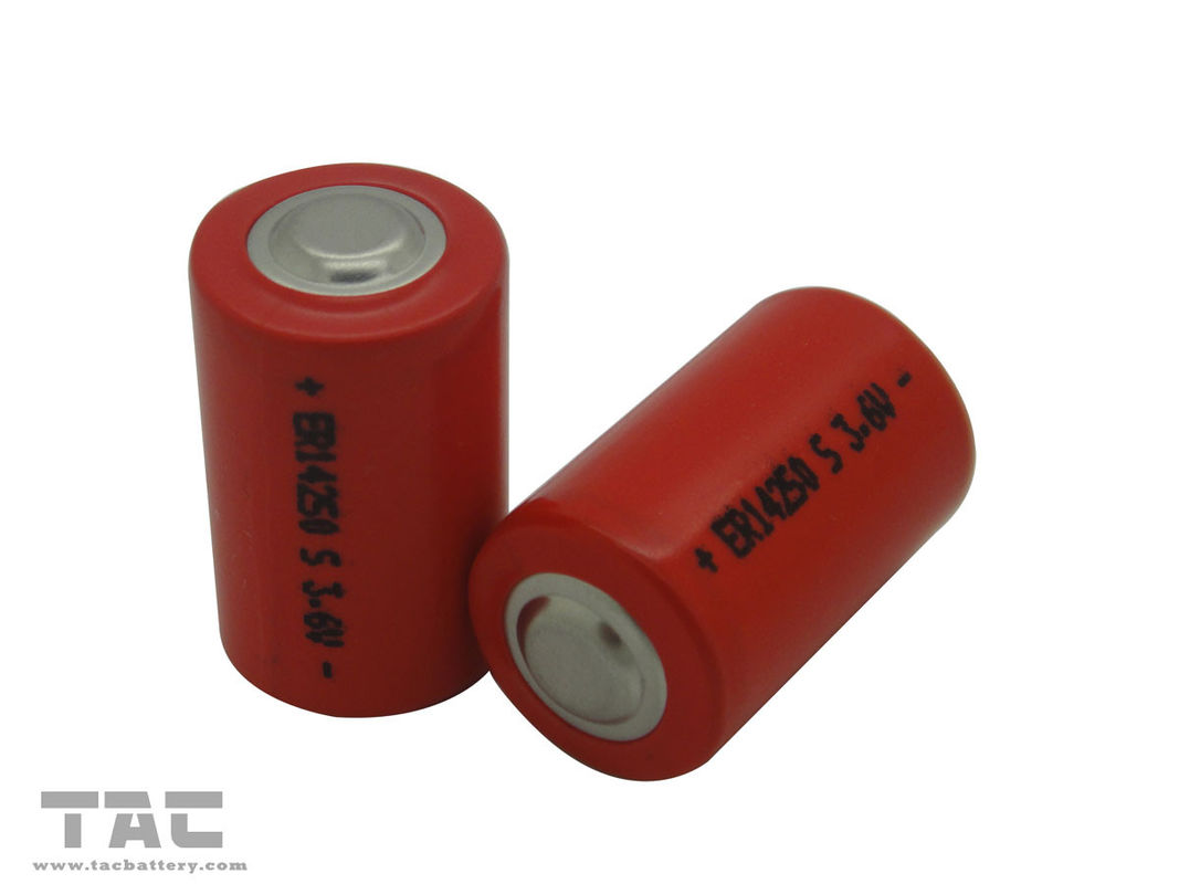 3.6V LiSOCl2 Battery Low self-discharge , High Temperature Type