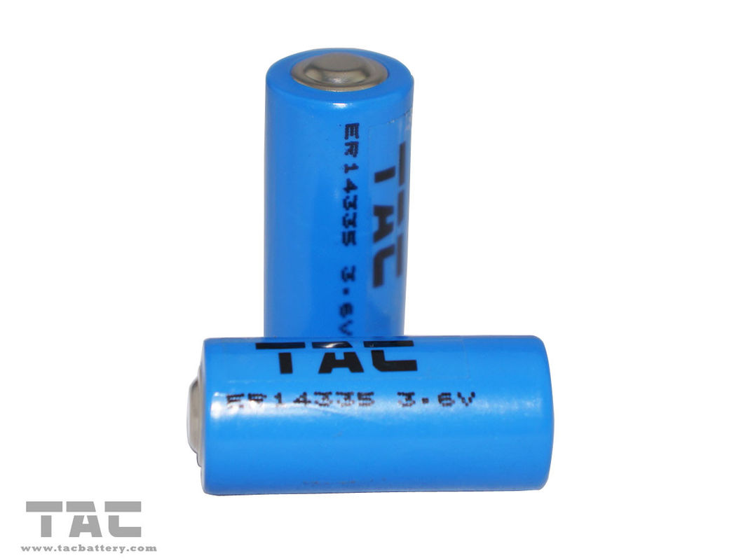 High Energy Density 1600mAh 3.6V LiSOCl2 Lithium Primary Battery ER14335
