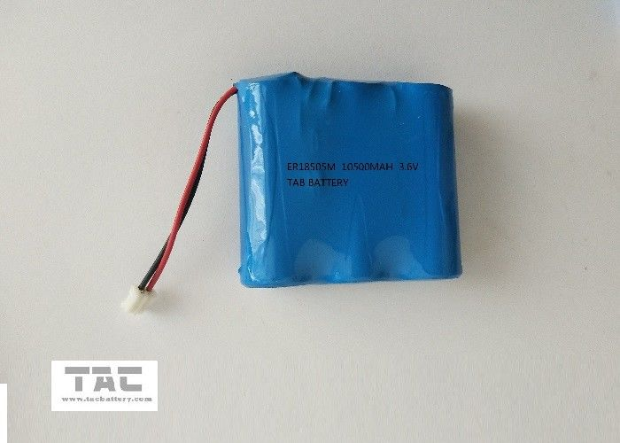 ER18505 3.6V 13200mAh LiSOCl2 Lithium Battery Primary For Magcard Machine