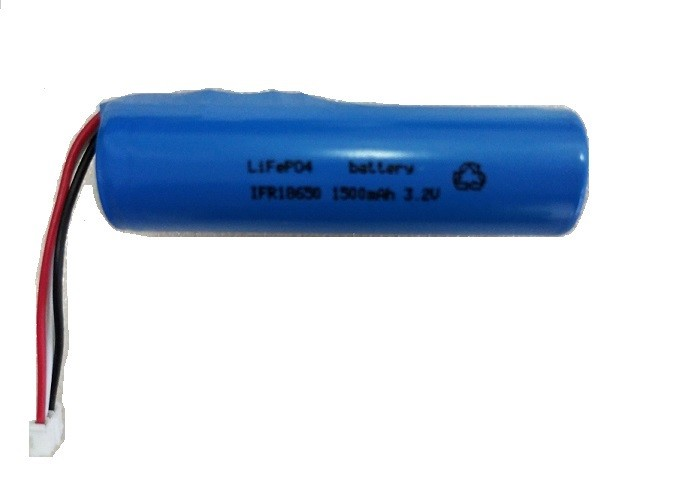 18650  3.2V LiFePO4 Battery Pack 1500mah For Car GPS Device With PCB